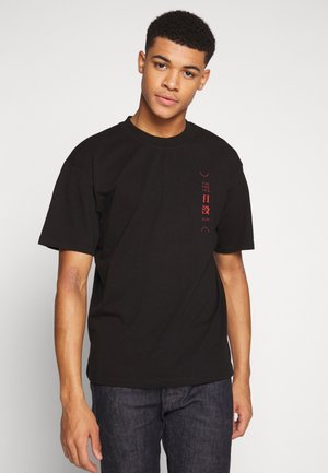 SAN SETTO - Print T-shirt - black