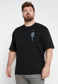 Edwin - MANGETSU - T-shirt con stampa - black - 2