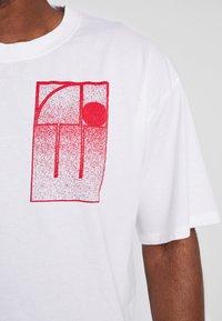 Edwin - T-shirt con stampa - white - 4