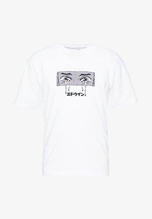 SAD - T-shirt imprimé - white