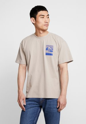 FROM MT FUJI - T-shirt print - moon rock