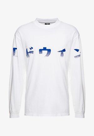 IMPRINT - Langærmede T-shirts - white