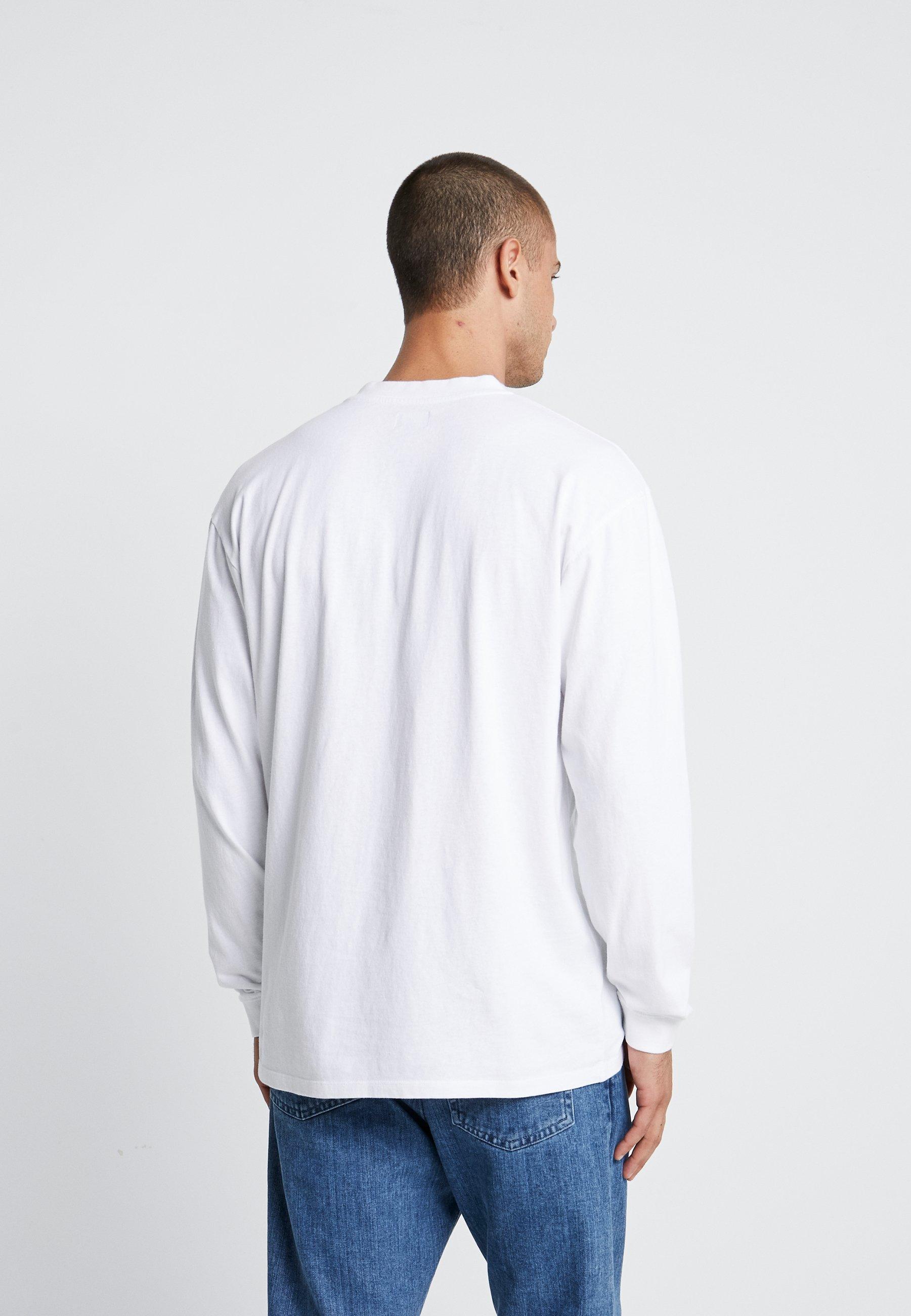 À Longues Manches shirt Edwin ImprintT White 6gyY7bfv