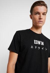 Edwin - JAPAN - T-shirt med print - black - 4