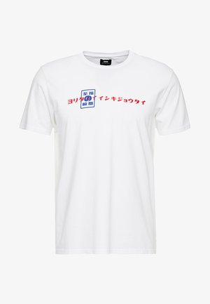 SHUIN - T-shirts med print - white