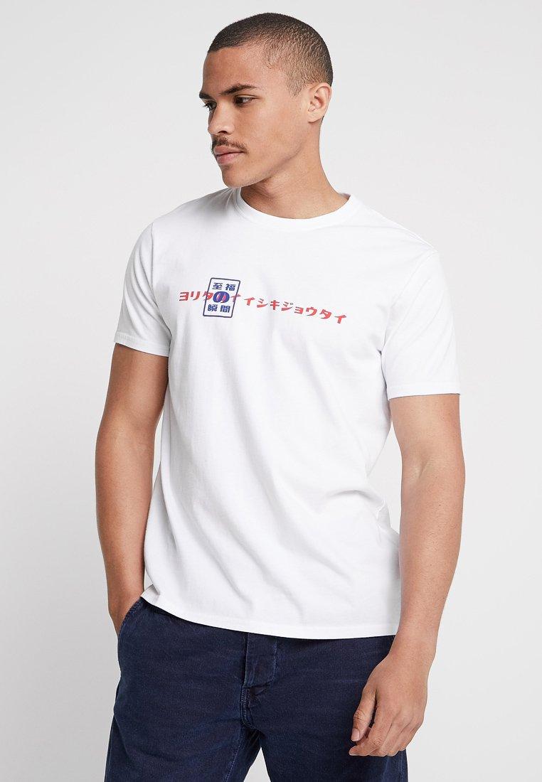 Edwin - SHUIN - Print T-shirt - white