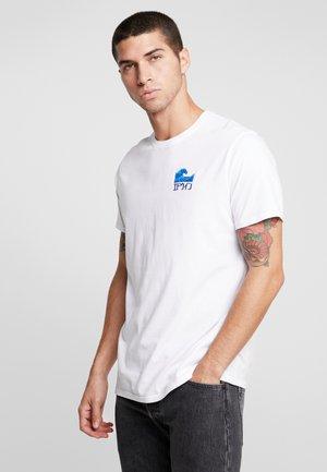 THE WAVE - T-shirt imprimé - white
