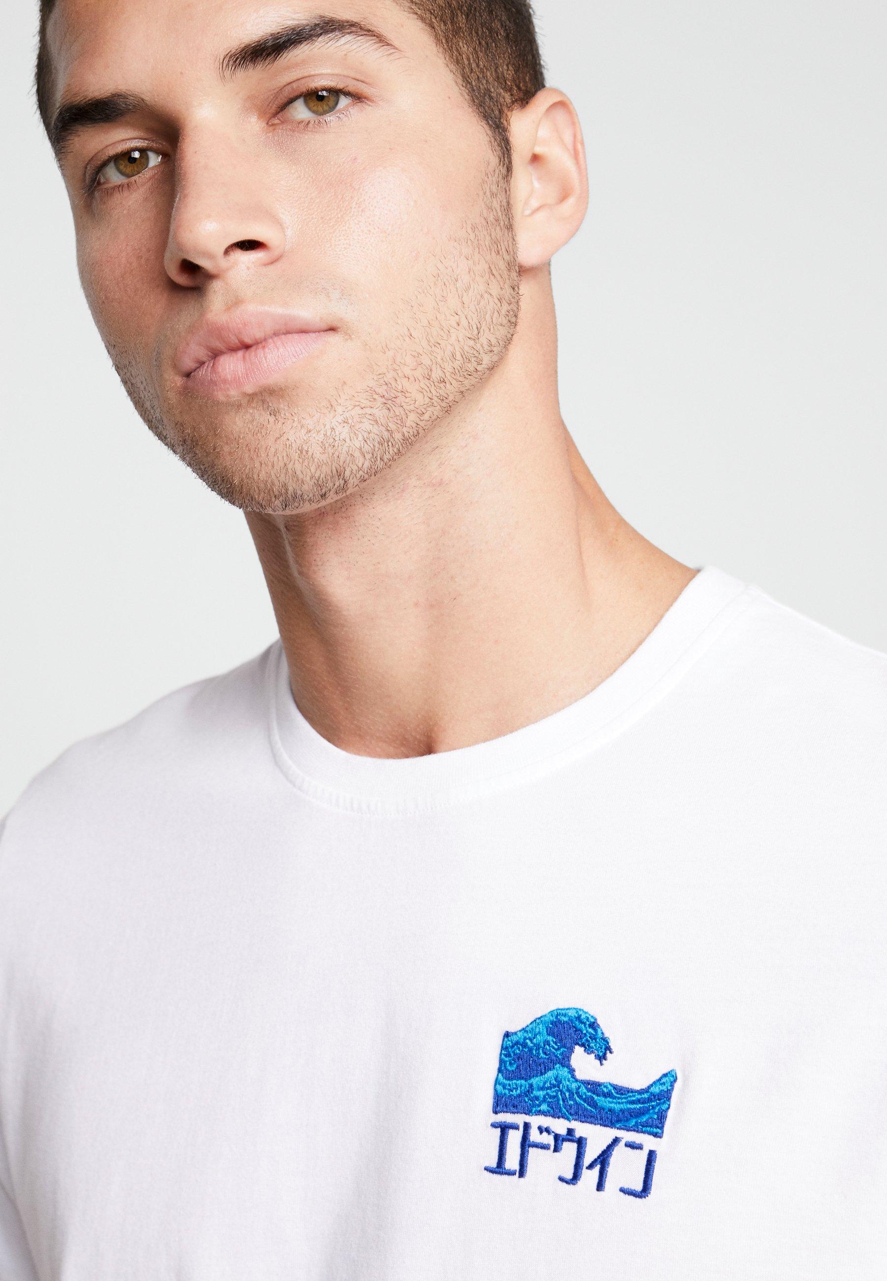Edwin The Wave - T-shirts Print White