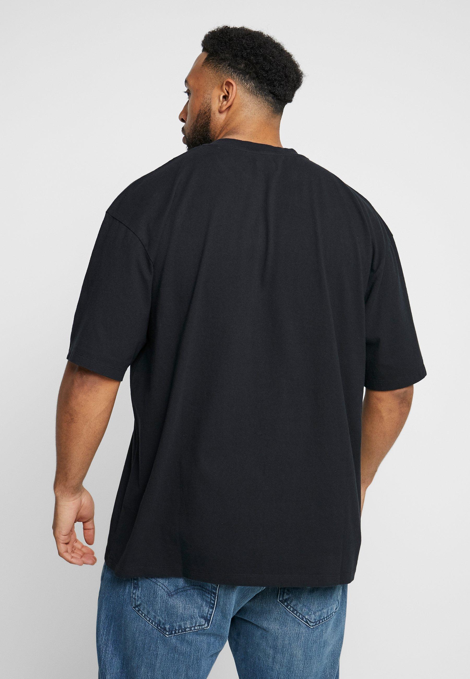 Edwin KATAKANA EMBROIDERY - T-shirt basic - black