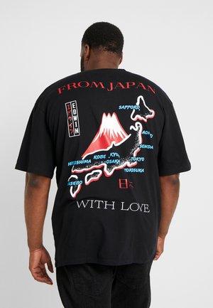 SOUVENIR FROM JAPAN - T-shirt med print - black