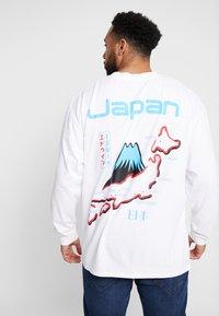 Edwin - SOUVENIR FROM JAPAN - Pitkähihainen paita - white - 0