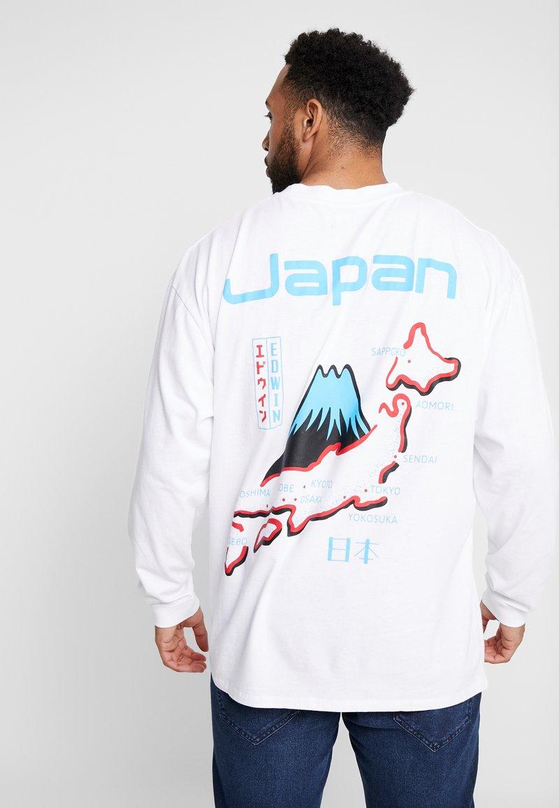 Edwin - SOUVENIR FROM JAPAN - Pitkähihainen paita - white