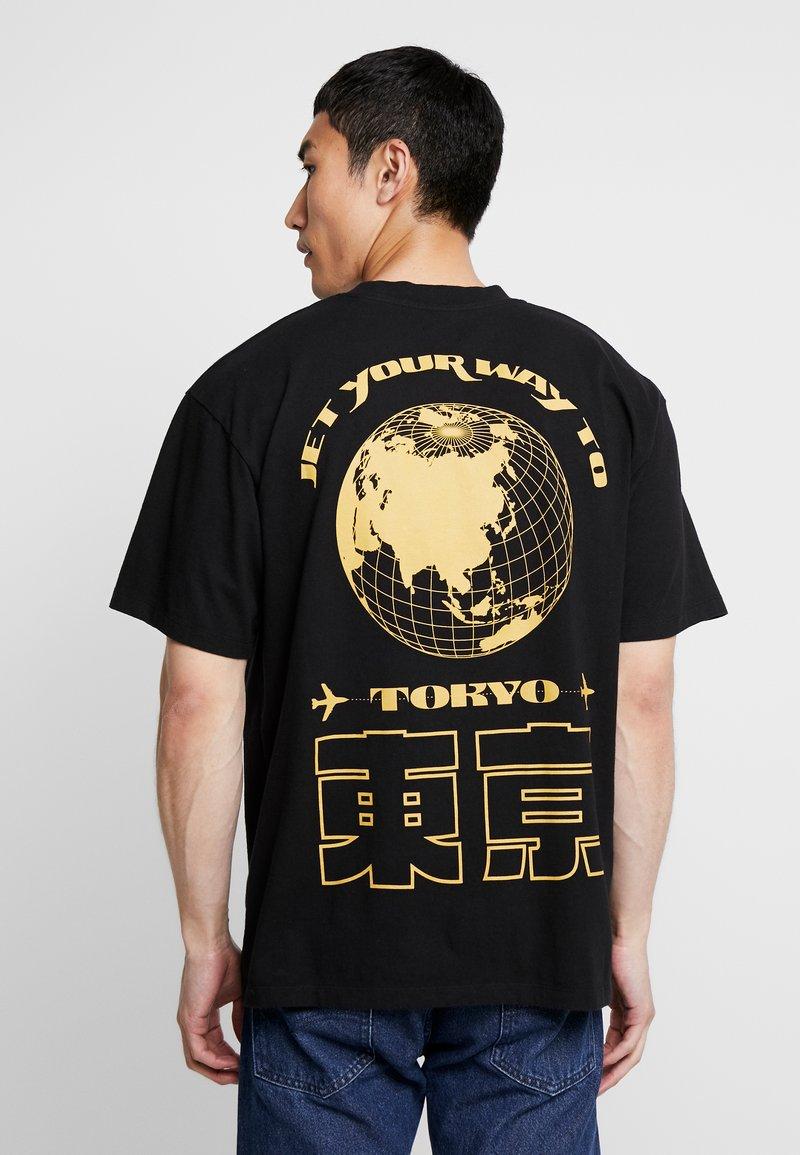 Edwin - TOKYO TRIP - Print T-shirt - black