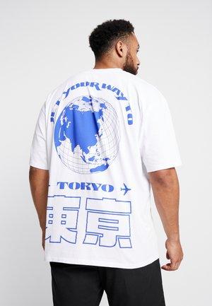 TOKYO TRIP - T-shirt imprimé - white