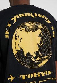 Edwin - TOKYO TRIP - Print T-shirt - black - 5