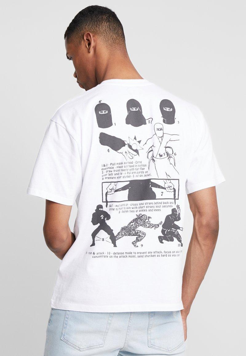 Edwin - NINJA - T-shirt print - white