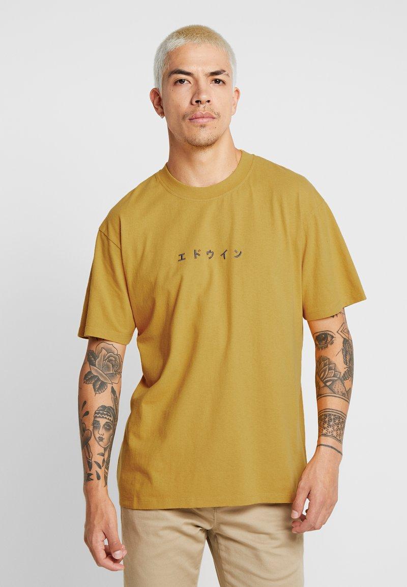 Edwin - KATAKANA - T-shirt print - harvest gold