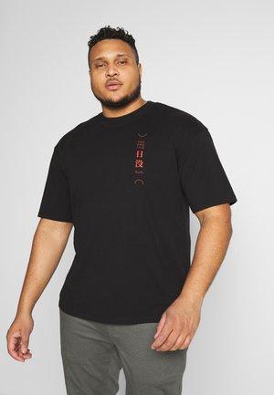 SAN SETTO - T-shirt con stampa - black