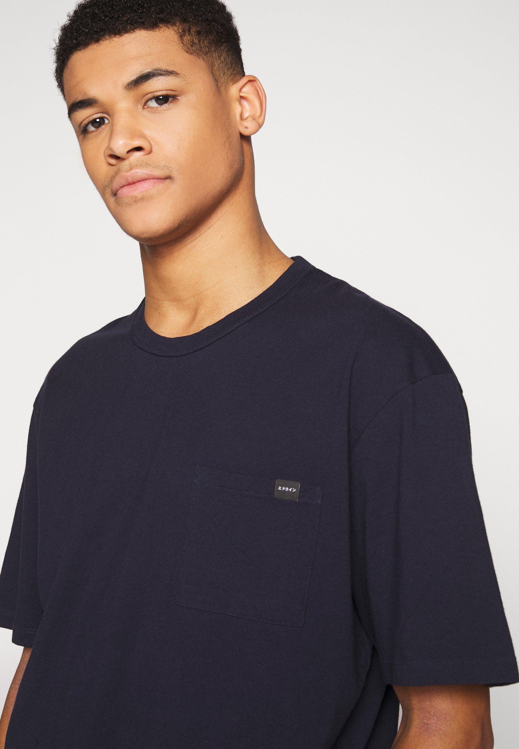 Edwin T-shirt basic - navy