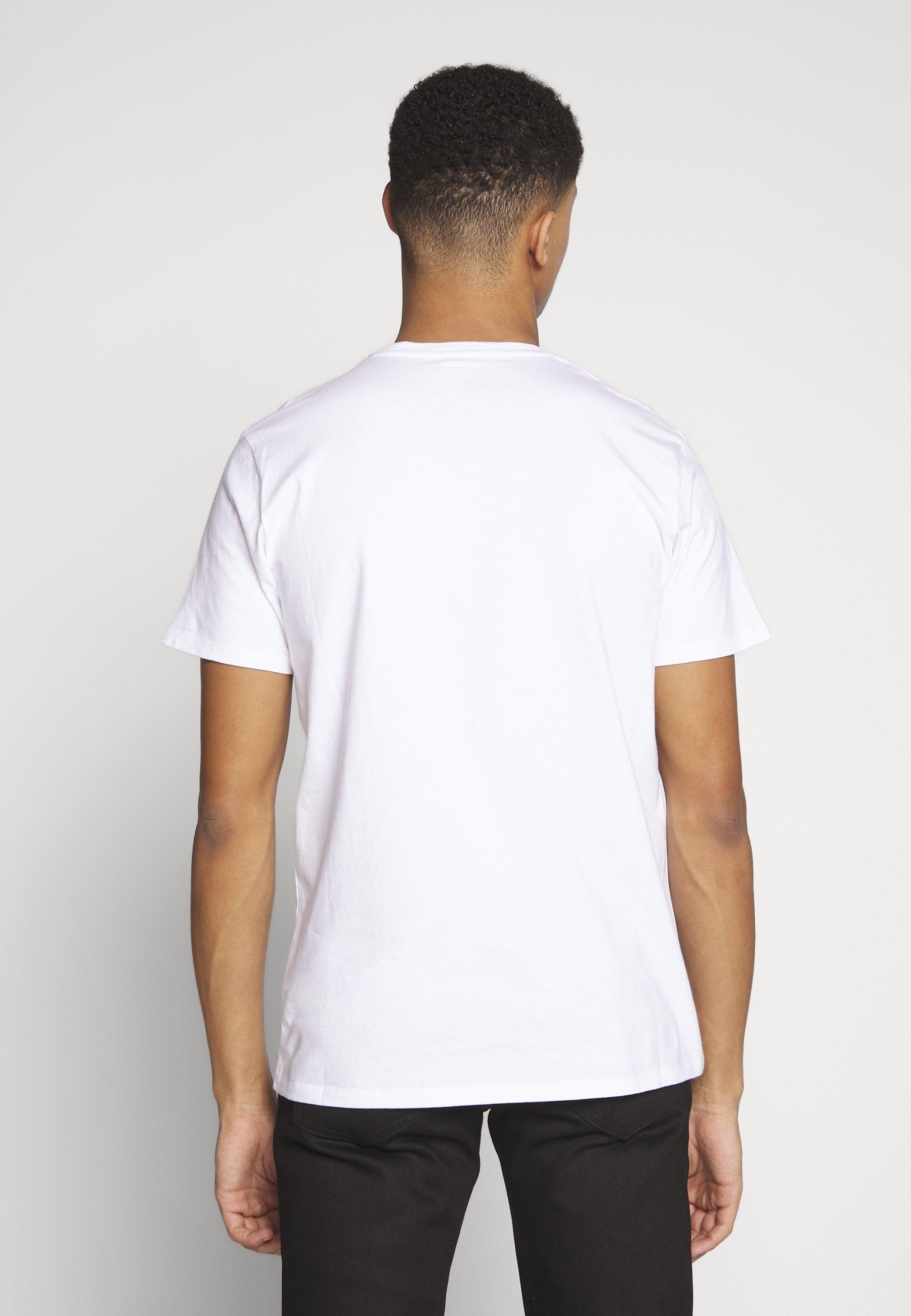 Edwin Awoke - T-shirt Imprimé White