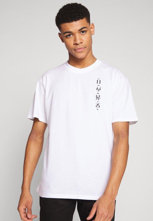 ZENITH - T-shirt med print - white