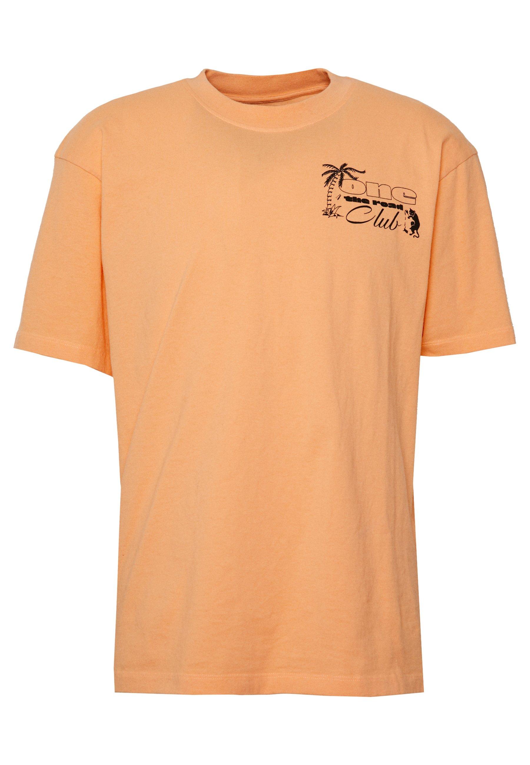 Edwin One The Road - T-shirt Imprimé Cantaloupe