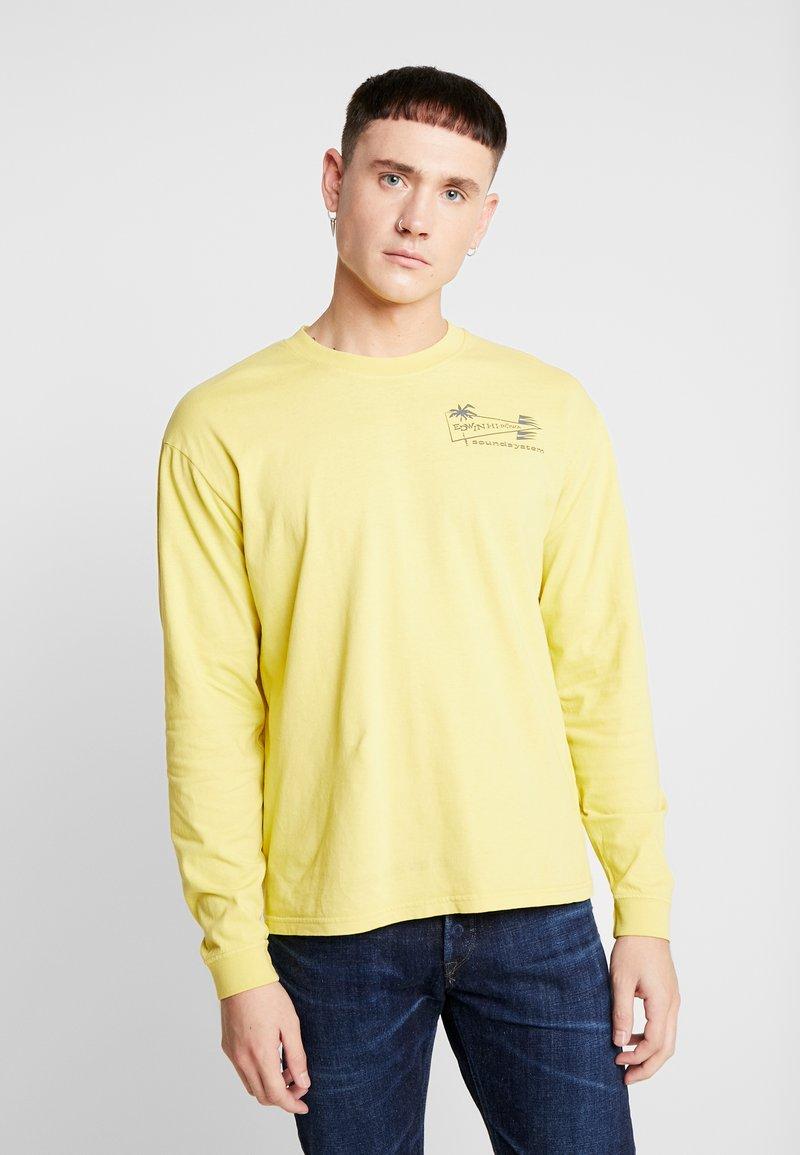 Edwin - HI POWA - Langarmshirt - aspen gold