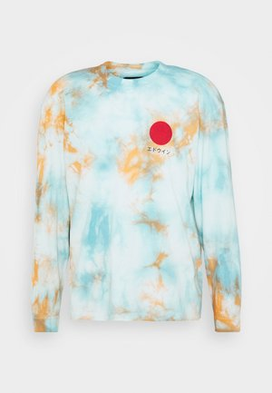 JAPANESE SUN - Langarmshirt - blue/cantaloupe