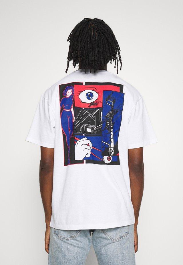 INTERWEAVING - T-Shirt print - white