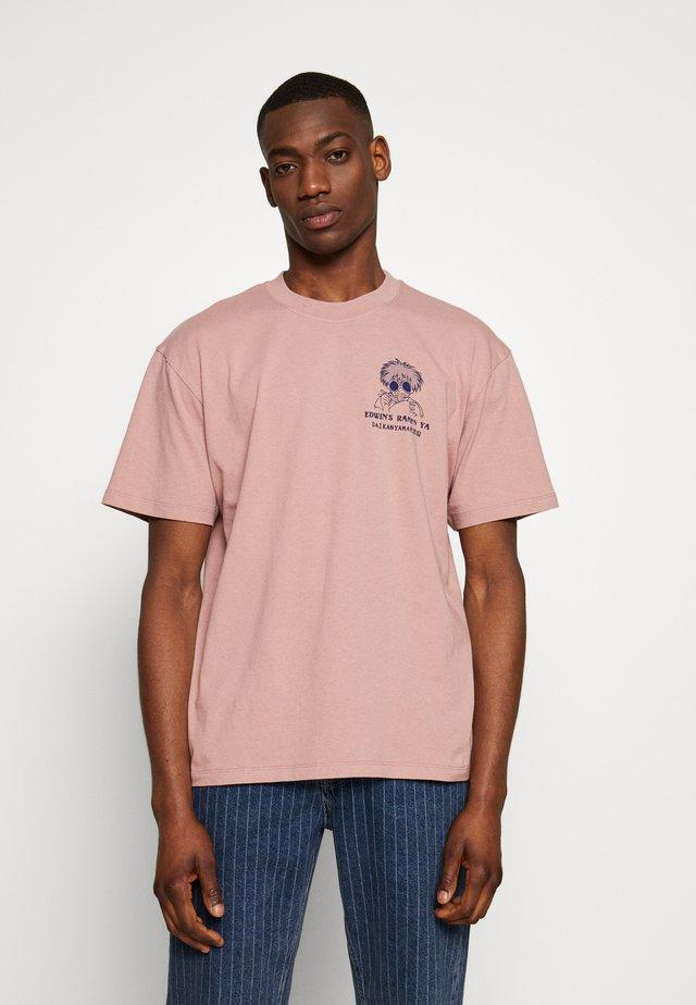 RAMEN YA - T-shirt print - woodrose