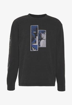 STRANGE FUSION - Long sleeved top - black