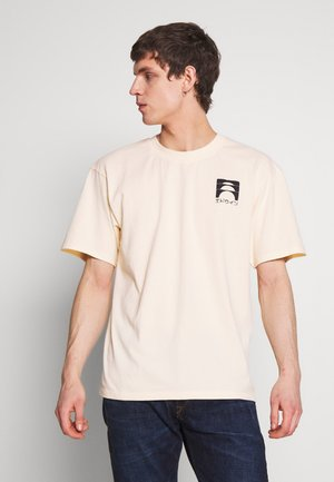 SUNRISE  - T-shirt con stampa - vanilla