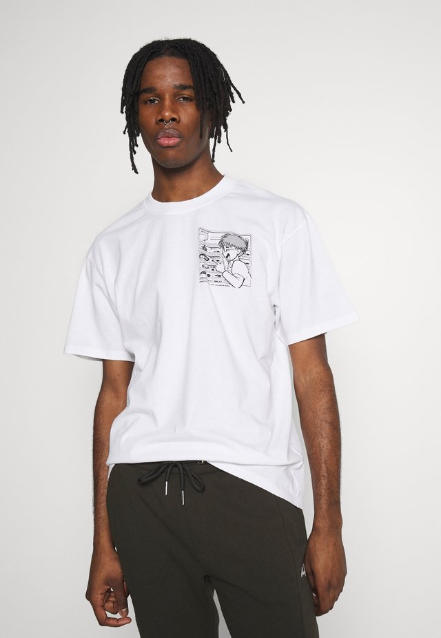RAMEN - T-shirt print - white