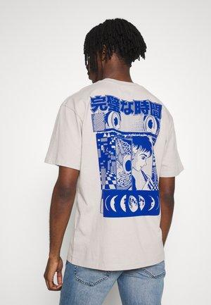 PERFECT TIME - T-shirt imprimé - silver cloud