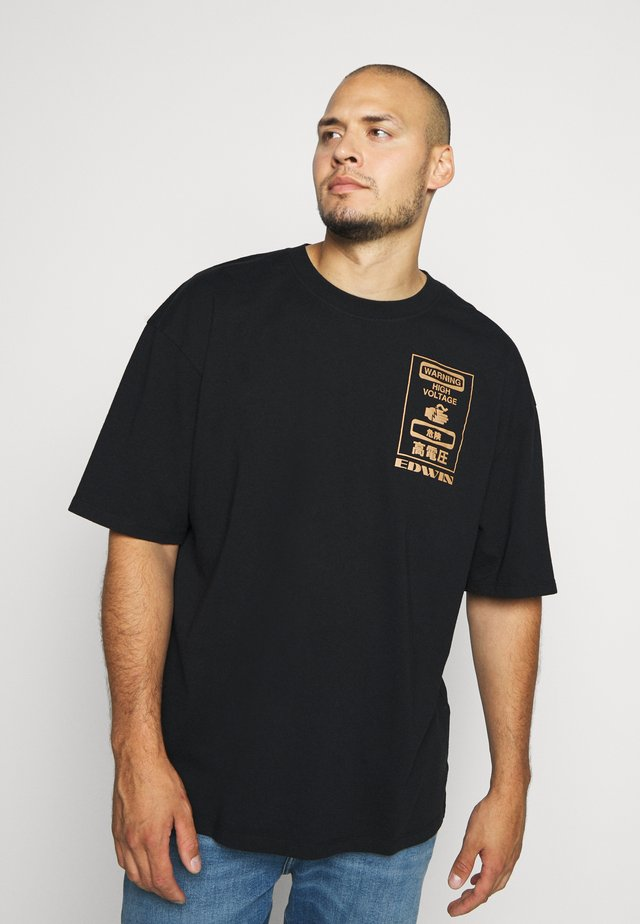 WARNING - Print T-shirt - black