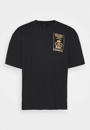 WARNING - T-shirt con stampa - black