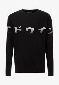 Edwin - IMPRINT BASE CREW - Sweatshirt - black - 3