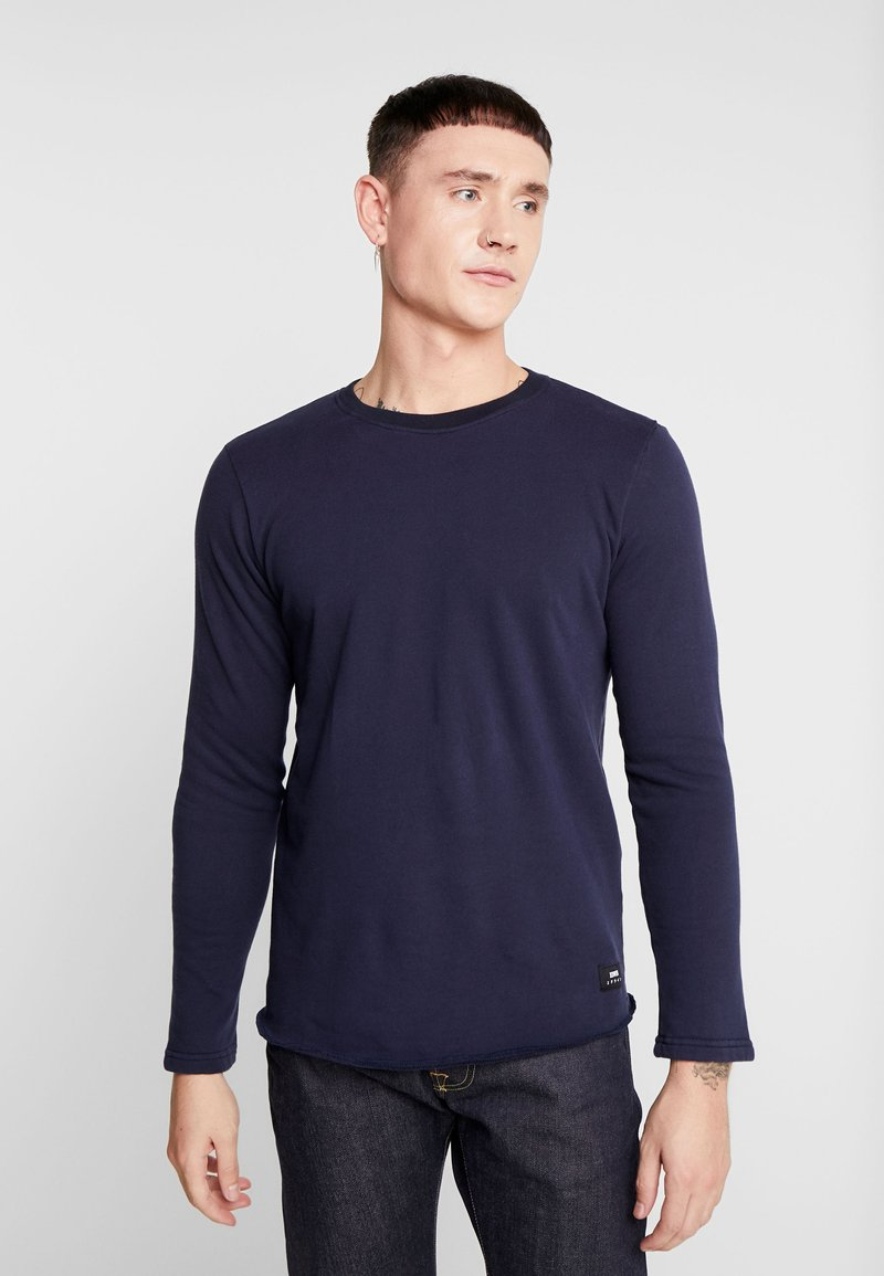Edwin - TERRY - Sweatshirt - navy