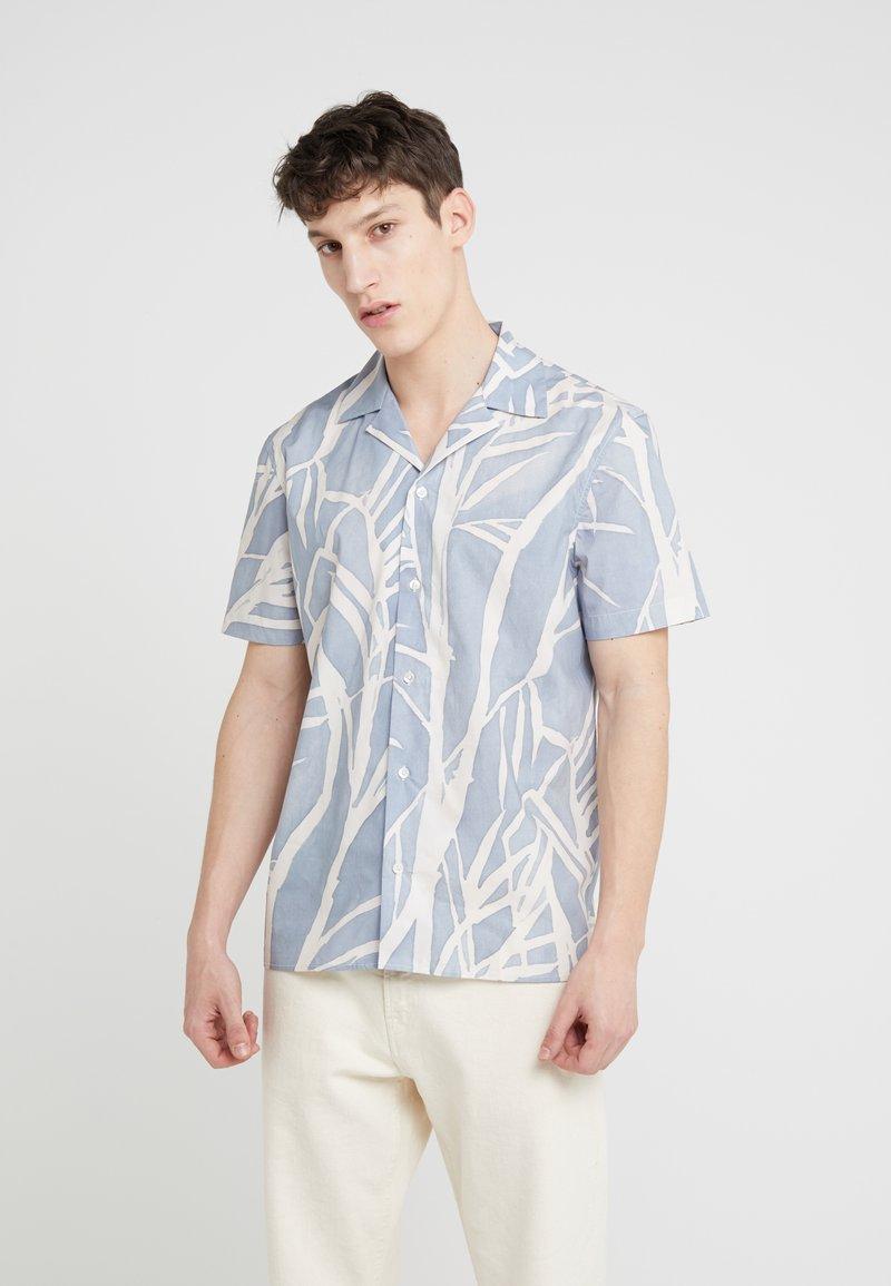 Editions MR - TAHITI SHORT SLEEVE SHIRT - Shirt - dusty blue