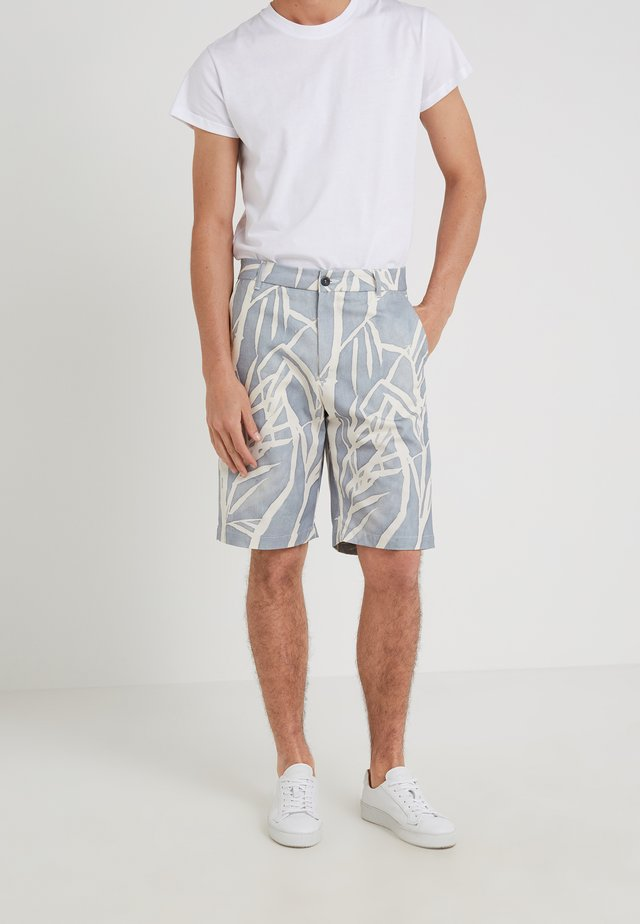 GIANNI BERMUDA - Shorts - dusty blue