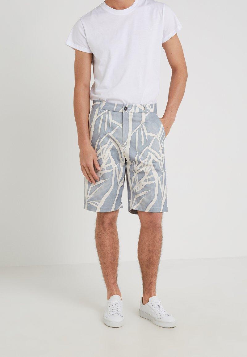 Editions MR - GIANNI BERMUDA - Shorts - dusty blue