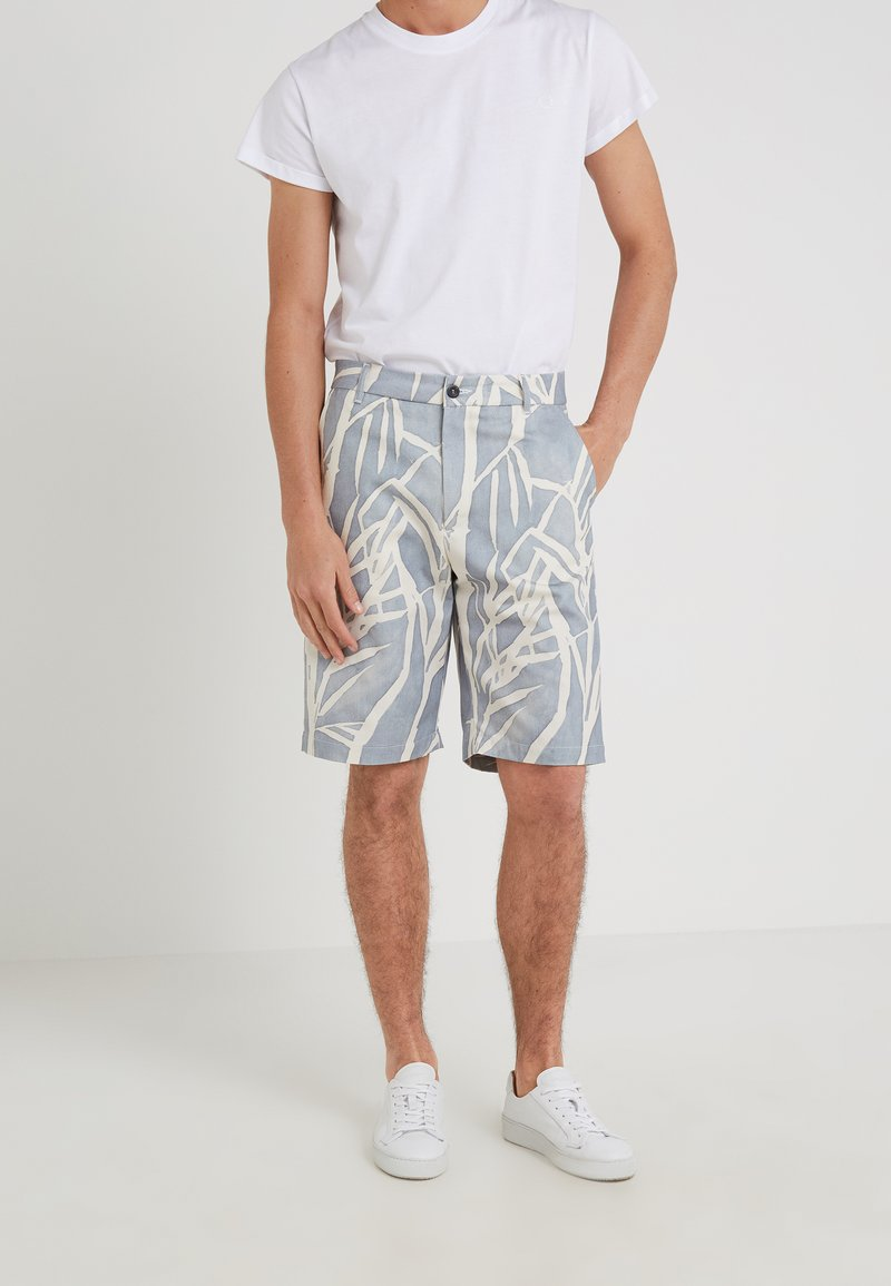 Editions MR - GIANNI BERMUDA - Shorts - dusty blue