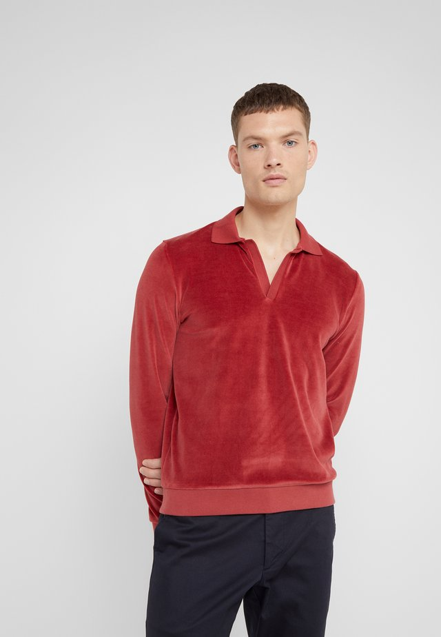 TERRYCLOTH - Sweater - brick