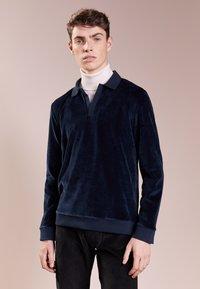 Editions MR - TERRYCLOTH - Sweatshirt - navy blue - 0