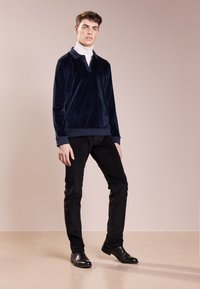 Editions MR - TERRYCLOTH - Sweatshirt - navy blue - 1