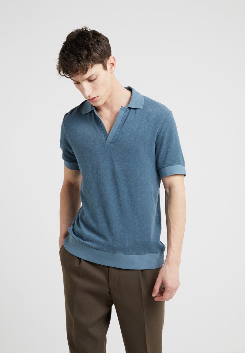 Editions MR - SHORT SLEEVE TERRYCLOTH - Polo shirt - dark mint