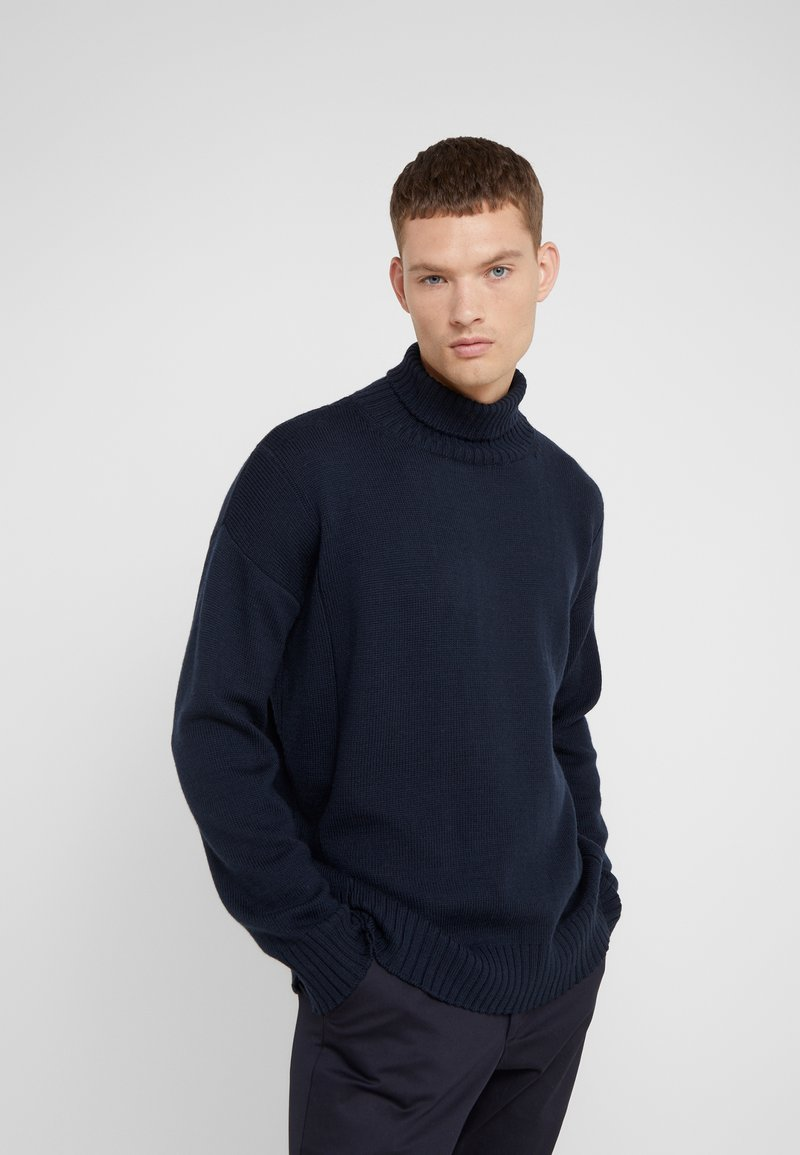 Editions MR - LOUIS TURTLENECK  - Jumper - navy