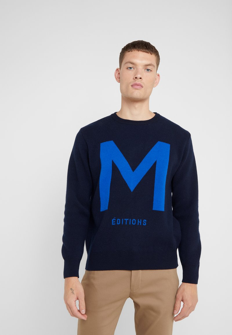 Editions MR - ALAIN  - Strickpullover - navy