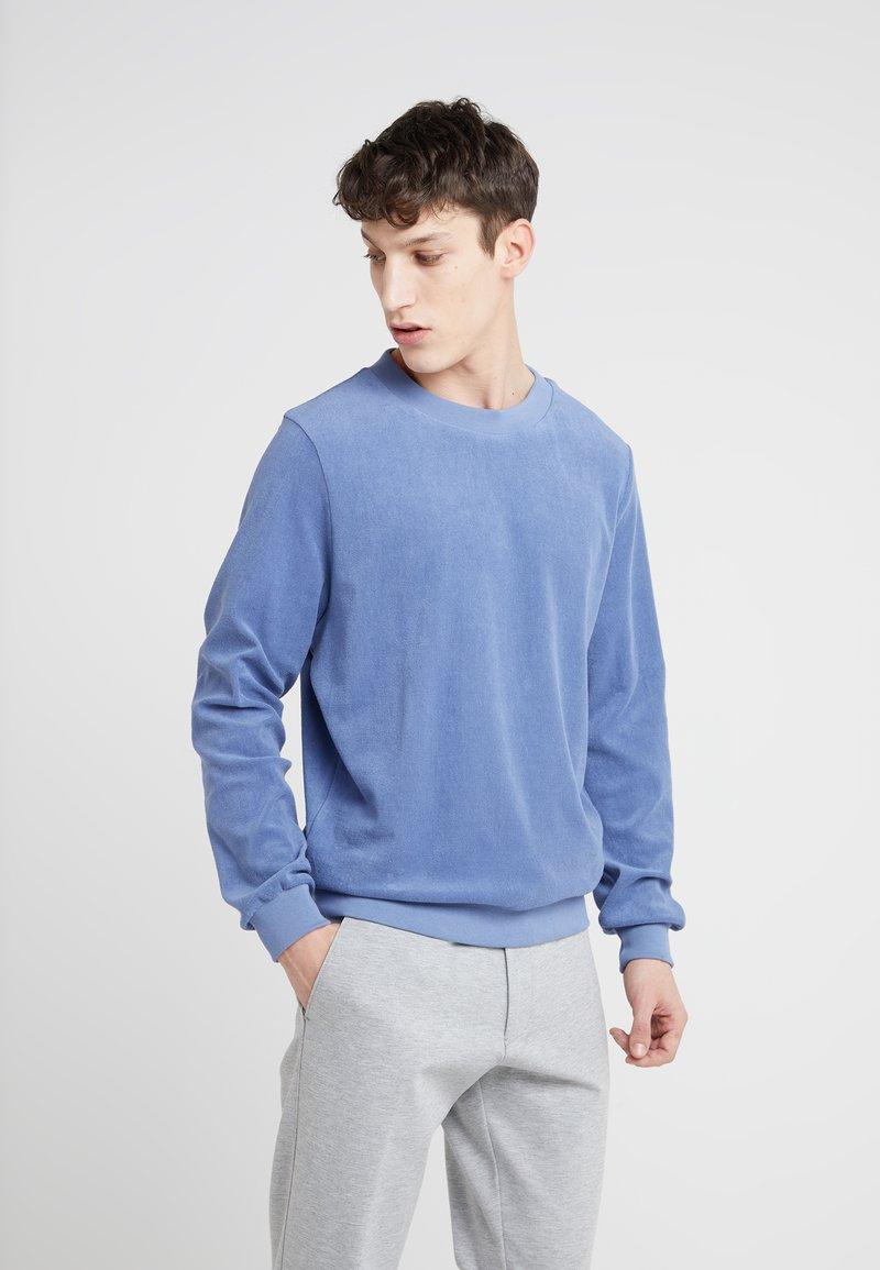 Editions MR - MATHIS TERRYCLOTH - Sweatshirt - blue storm
