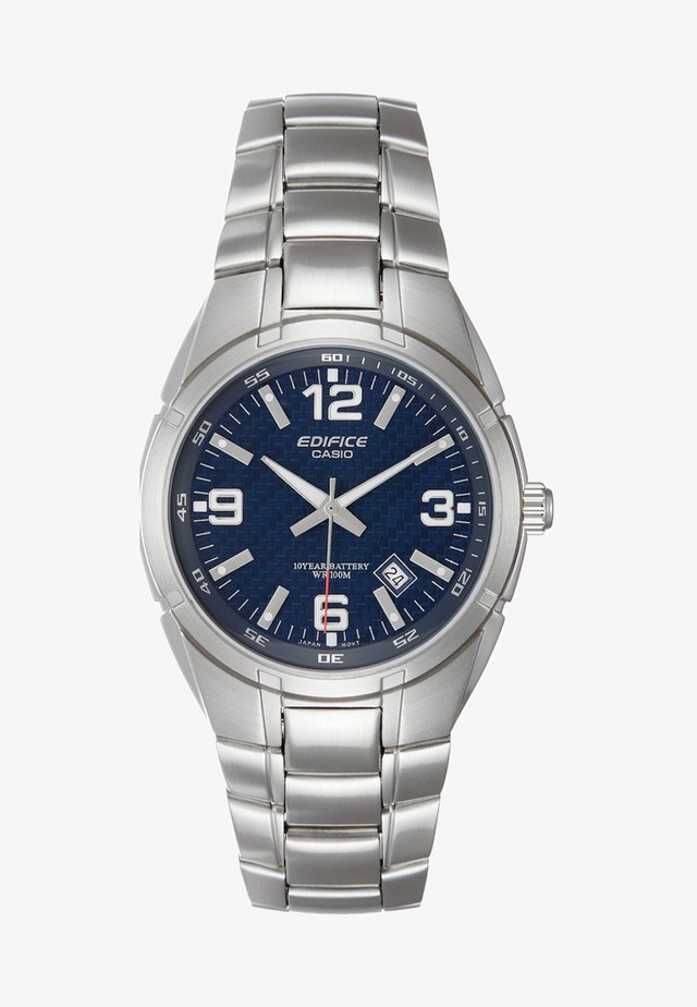 Watch - silver-coloured/blue
